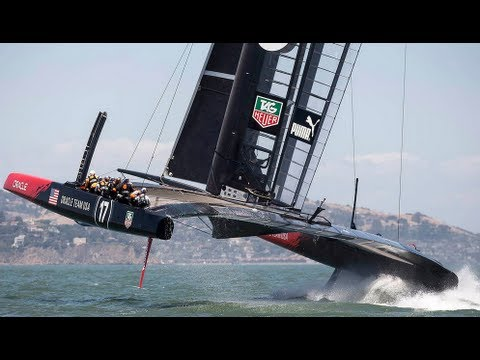 ORACLE TEAM USA - Back to the Bay