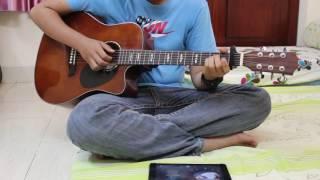 Yêu một người có lẽ - GUITAR COVER ft ipad :)))