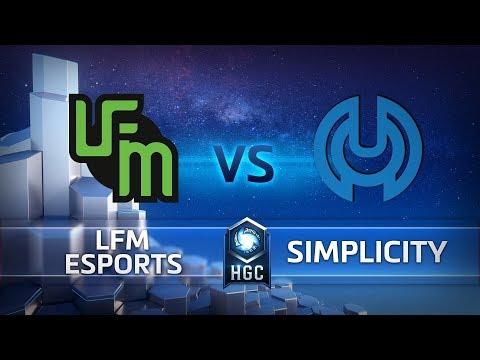 Simplicity vs LFM eSports vod