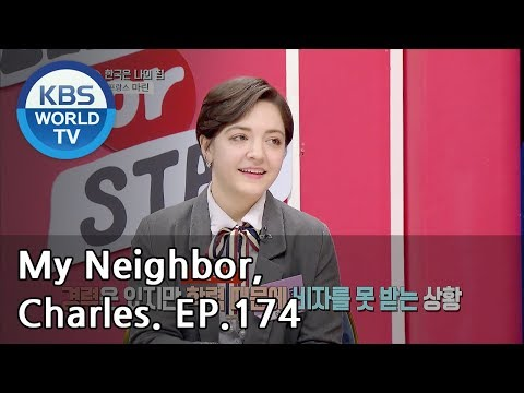 My Neighbor, Charles | 이웃집 찰스 Ep174 / Marine the smart girl from France. [ENG/2019.02.05]