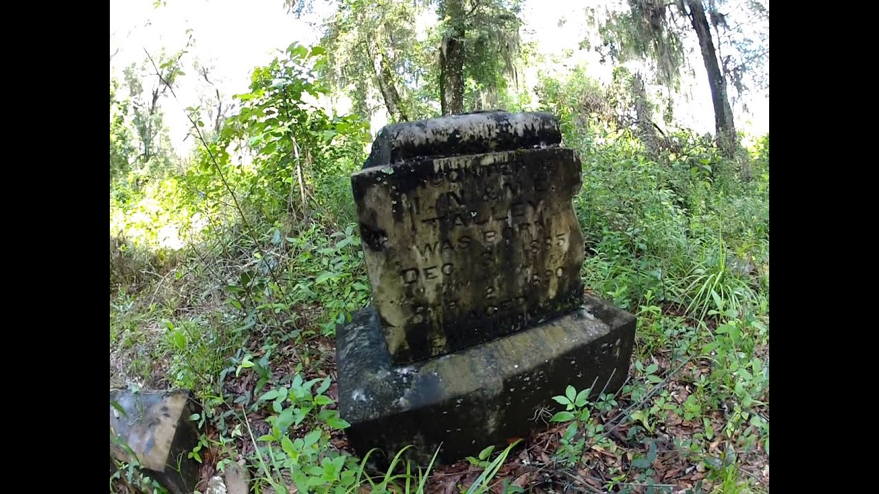 Oriole Cemetery in Withlacoochee State Forest - YouTube