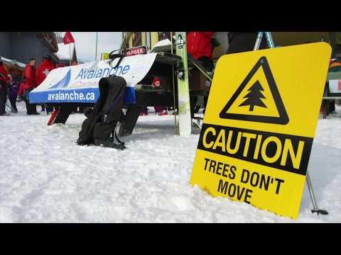 Winter Skiing At Apex Mountain Resort, British Columbia, Canada