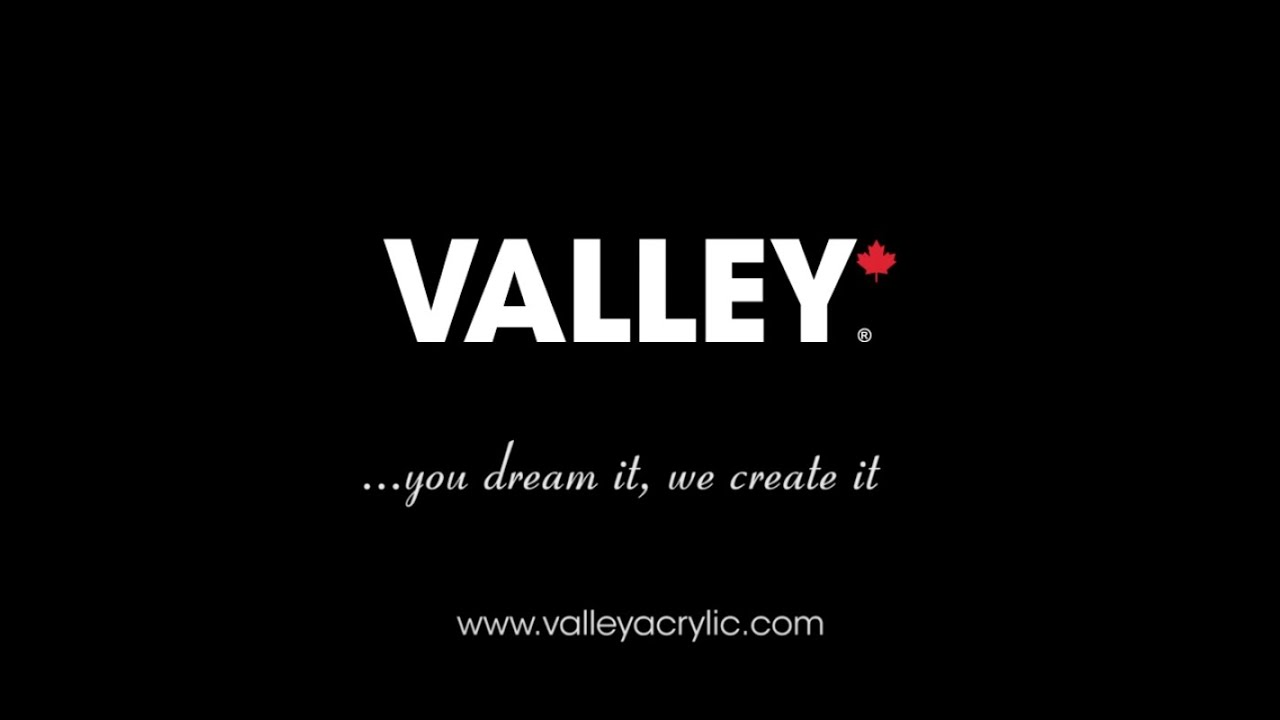 Valley Acrylic - Canadian Manufacturer - YouTube
