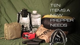 10 Items a New Prepper Needs
