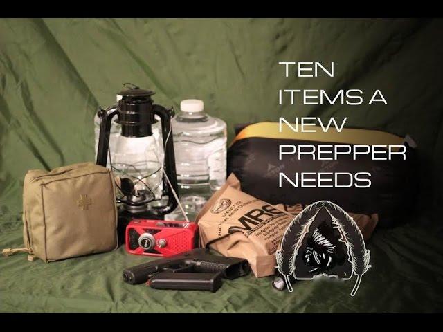 10 Items a New Prepper Needs