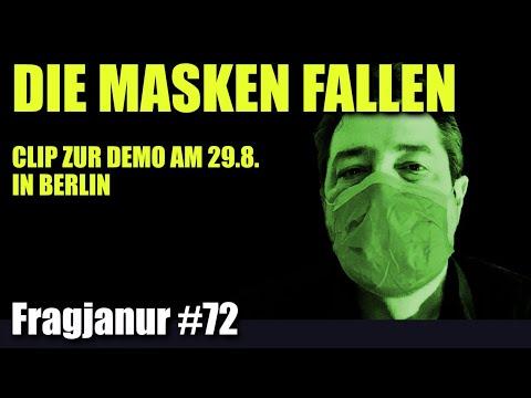"""""""Die Masken fallen."""" Kommt alle zur Demo am 29.8. nach Berlin #TagDerFreiheit #EndeDerPandemie"""