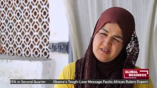 Tunisian woman sews her way to financial independence
