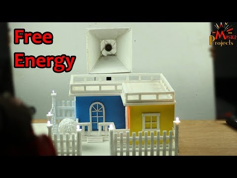 How To Make Free Energy By Air At Your Home   - Simple Life Hack
