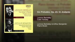Six Preludes, Op. 23: VI. Andante