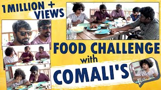 Food Challenge With Comali Pugazh, Sarath & DJ Black | Makapa