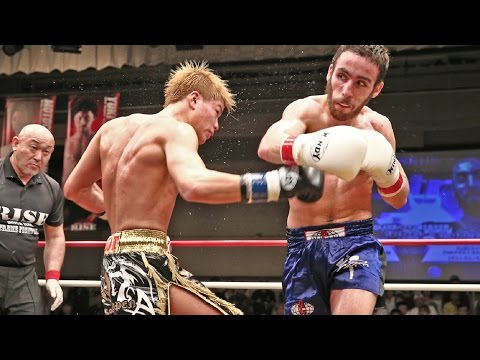 Tenshin Nasukawa vs. Fred Cordeiro (ISKA World K-1 Title | RISE 110)