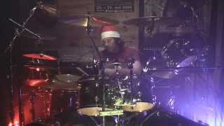 Wizard - I Wish It Could Be Christmas Everyday Live Drum Tribute