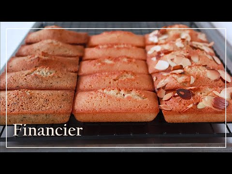 [ENG SUB] Financier with 3 flavors / 3가지맛 휘낭시에   Unni's Oven 언니쓰오븐