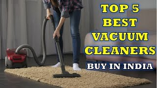 ✅ Top 5 Best Vacuum Cleaners | Review | Buy In India [hindi]