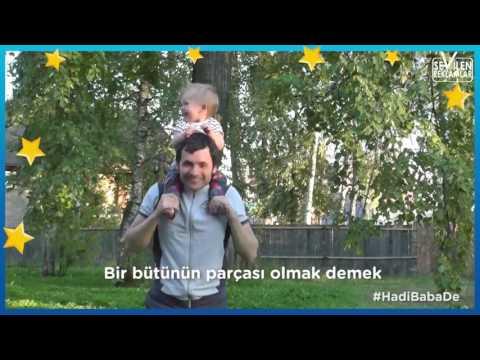 Molfix Babalar Günü Reklamı 2017 //  Hadi Baba De