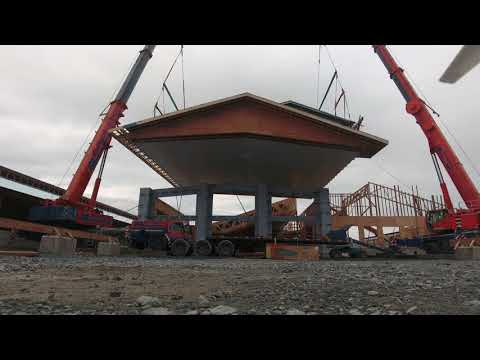 Neels Construction || Mega Cranes || Kerkhoff Eng || Heavy Lift 40T || Feb 09.18