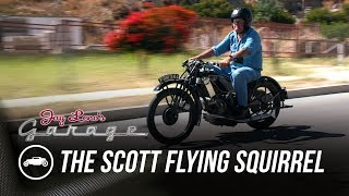 homepage tile video photo for Race Motorcycle From the 20's: The Scott Flying Squirrel - Jay Leno's Garage