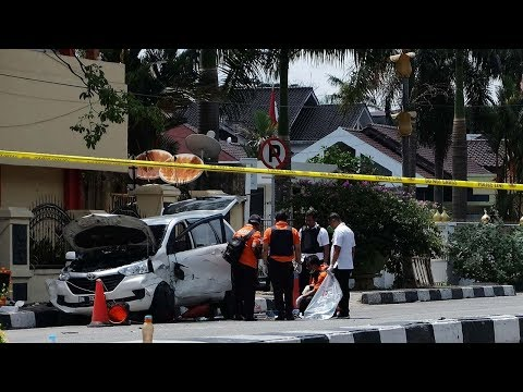 Officer, 4 attackers dead in Indonesia police station assault: official