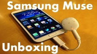Samsung Muse (S Pebble) MP3 Player Unboxing