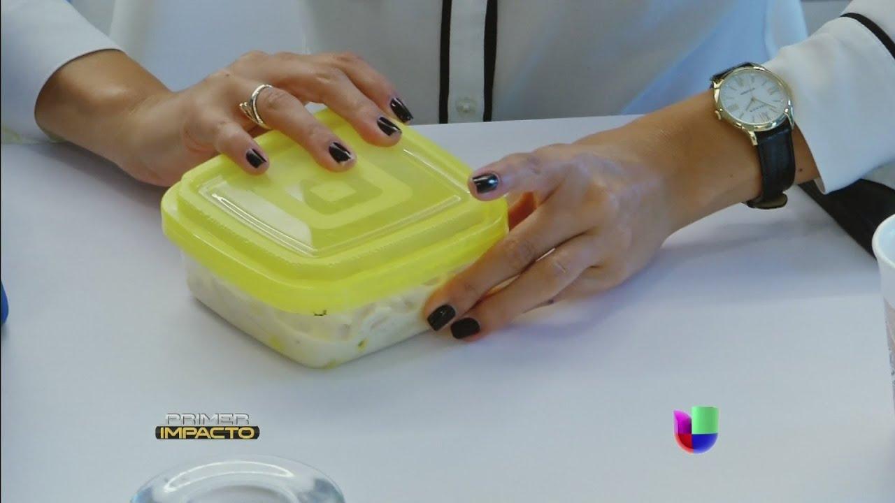 Resultado de imagen para tapers de plástico con comida