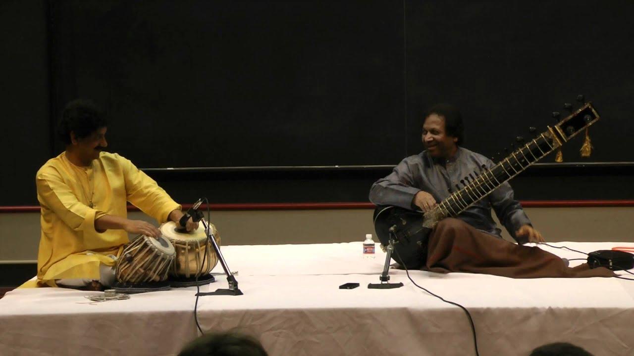 Ustad Shahid Parvez and Shri Gourishankar - Raga Charukeshi