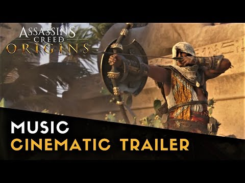 Assassin's Creed Origins - Cinematic Trailer Music | You Want It Darker (Leonard Cohen)