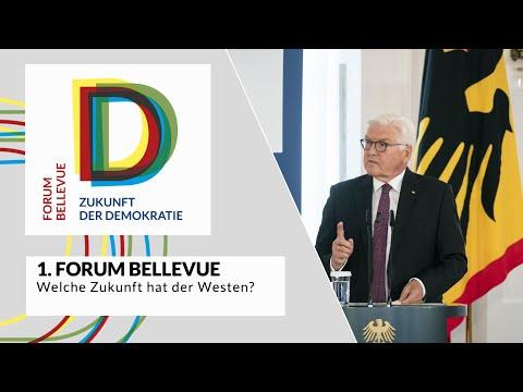 """1. Forum Bellevue - Thema """"Welche Zukunft hat der Westen?"""""""