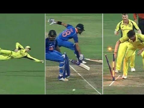 Rohit Sharma run out by Steve Smith's!! (Funny) | India vs Australia - 4th ODI | tWitTer HIGHLIGHT