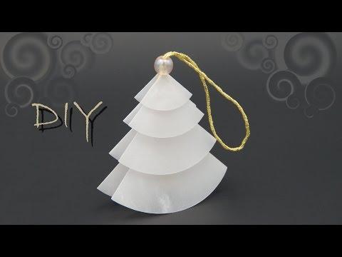 christbaumschmuck basteln mit papier zu weihnachten o doovi. Black Bedroom Furniture Sets. Home Design Ideas