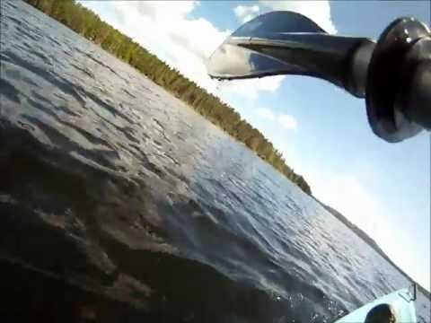 Kayaking on Bras D'Or Lake (GoPro HD Hero)
