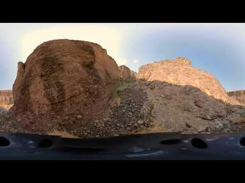 360 Walking through Hatta Wetland Reserve Dubai for Virtual Tour