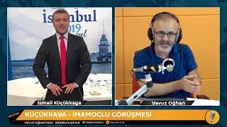 İsmail Küçükkaya: İmamoğlu dün TRT'de çok daha iyiydi, TRT'dekiler sorıları mı verdiler?