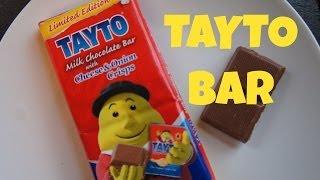 Emmy Eats A Tayto Bar   Cheese & Onion Crisp Chocolate Bar