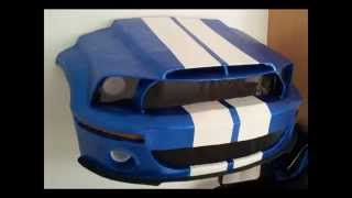 Ford Mustang Papercraft