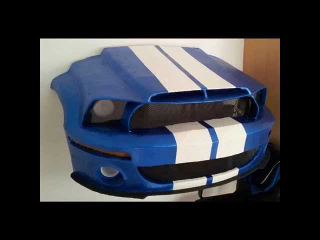 Ford Mustang Papercraft Travel Video
