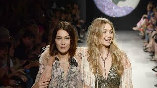 Gigi Hadid  Ramp Walk Spring/Summer 2018
