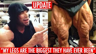 KEVIN LEVRONE LEAKED PIC OF LEGS AND NEW PROGRESS PICS 2.5 Weeks Out Arnold Classic!! Legs Are Huge