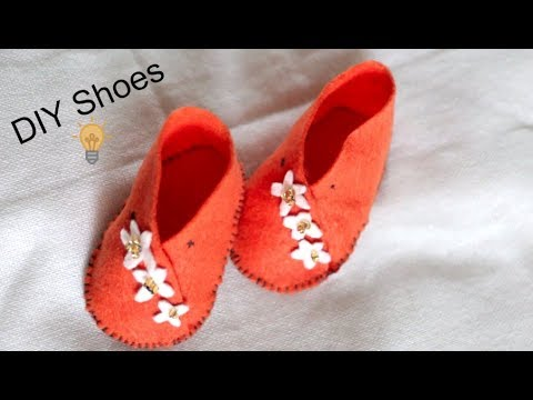How Make Slippers At Home || DIY  Baby Shoes || Easy Craft || Inspiration kidzone
