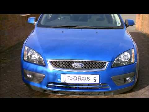 How to open the bonnet / hood on a Ford Focus