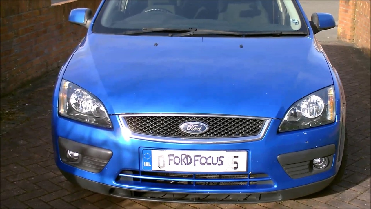 How To Open The Bonnet Hood On A Ford Focus