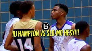 RJ HAMPTON VS SLO-MO HESY Guard Battle At Chris Bosh Hoopfest