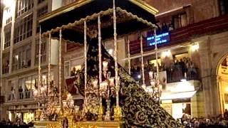 Dolores del Puente por Tribuna Oficial. Málaga Semana Santa 2013 Lunes Santo.