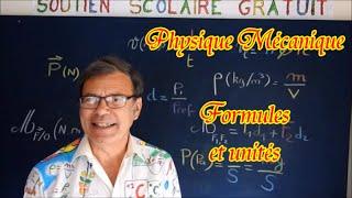 Cours de Physique Mécanique