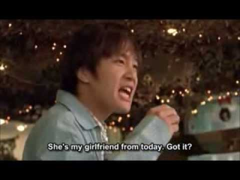 funny moment in my sassy girl with kyun woo