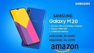Samsung Galaxy M20 OFFICIAL Confirmed | Glaxy M20 First Look  Price Specification