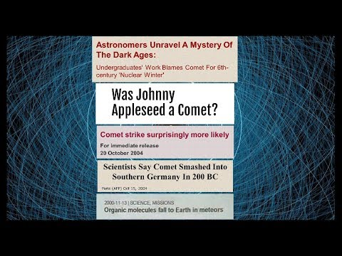 Tsunami Chevrons, Comets' Parade & Cosmic Close Calls –Cosmography101-5.2 w/ Randall Carlson '06