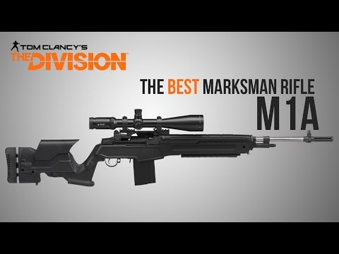 The Division Weapon Guide - M1A Remake (Statistics, Mods, Talents and Set-Up)