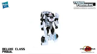 Video Review of the Transformers Combiner Wars: Deluxe Class Prowl