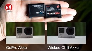 Wicked Chili Gopro Hero 4 Akku Test , Vergleich Mit Original // Deutsch // In 4k #8