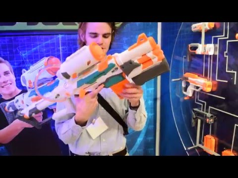 First Review: Nerf TRI-STRIKE (My bolt-action hero)